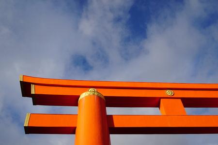 Heian Shrine at Kyoto, Japan