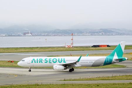 Air Seoul 写真素材 - 135669139