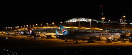 Kansai International Airport Night View 報道画像