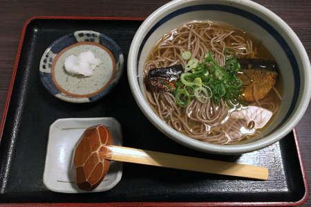 Kyoto specialty, herring soba 写真素材
