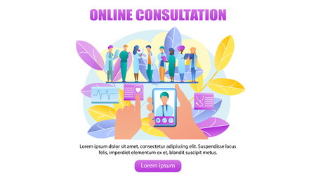 Doctor Consultation Banners Investment Banking Banners