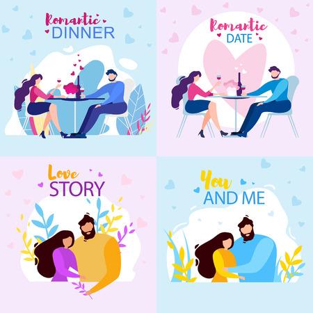 Dating illustration story