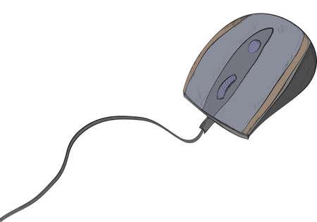clique: computer mouse