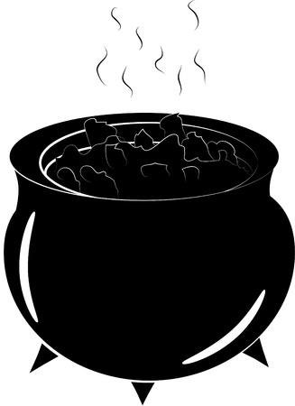 chowder: halloween cauldron