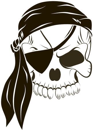pirate skull: piratas del cr?o