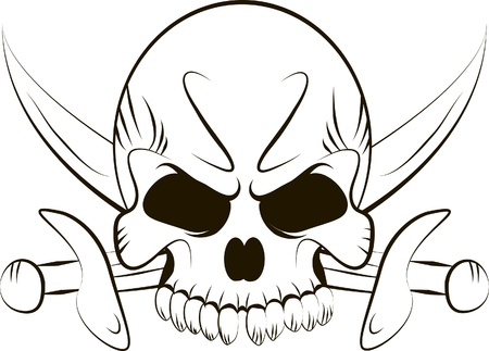 sable: Pirate Skull and Swords