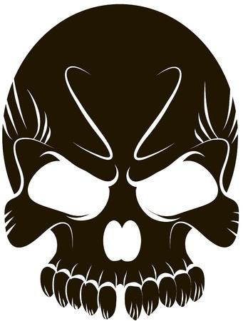 skeleton key: Skull