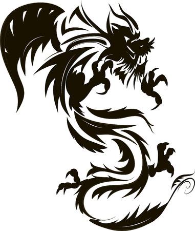 tatuaje dragon: tatuaje de drag?n
