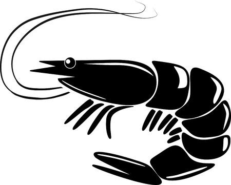 jumbo shrimp: shrimp Illustration