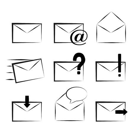 spam mail: mail icons