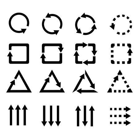 Icons arrow Illustration