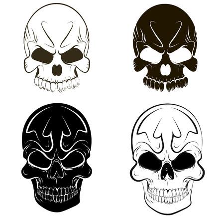 roger: Skull set