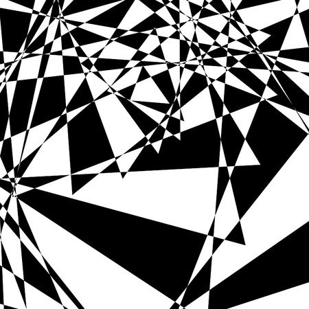 Black-and-white abstract background Vector