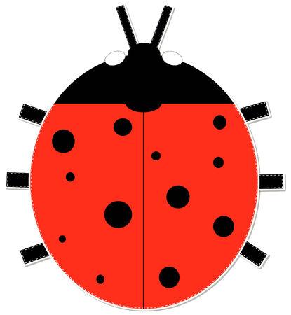 lady beetle: Ladybug sticker