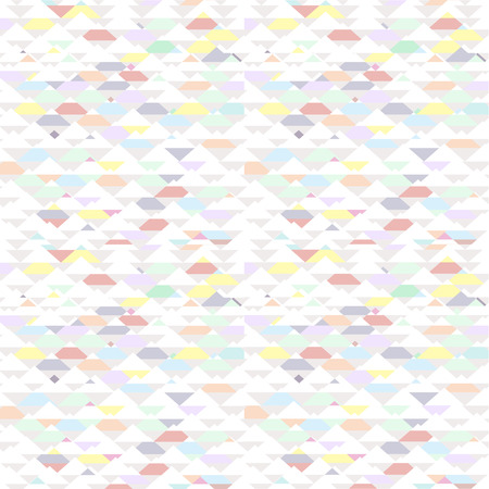 Seamless triangle pattern. Vector background. Geometric abstract texture Vector