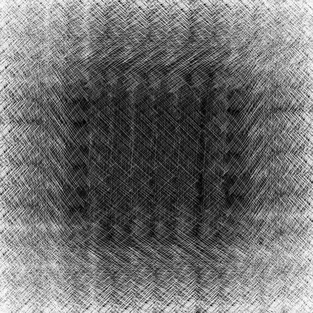 Seamless fond avec des lignes d'encre de griffonnage gribouillis de stylo, l'éclosion, zéro