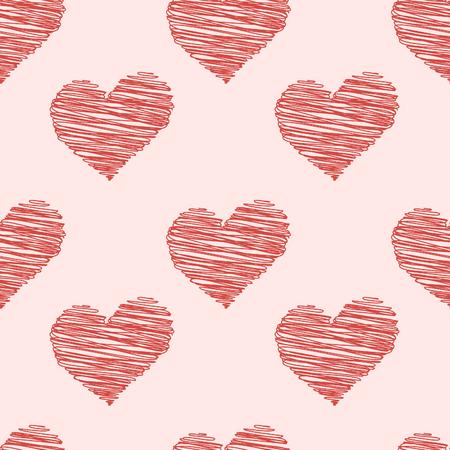 Patrón de corazón abstracto. Foto de archivo - 89975669