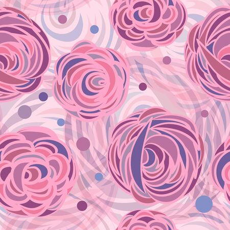 Abstract roses illustration