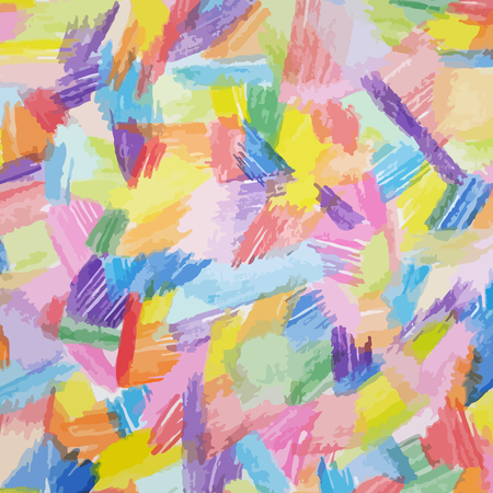 Abstract background with watercolor brushstrokes