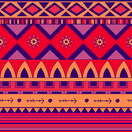Seamless pattern background in ethnic style. Embroidery Stok Fotoğraf - 114855556