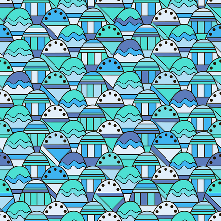 Seamless abstract background with geometric pattern.