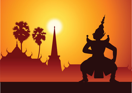 Thai ancient literature play