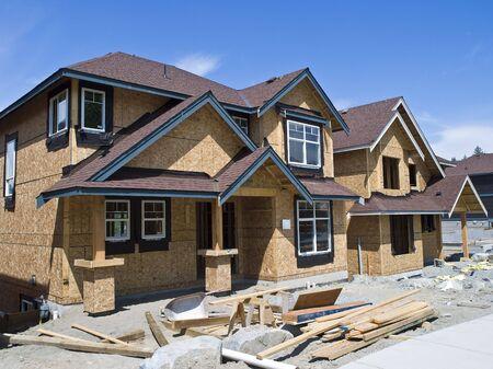 新しい家の建設