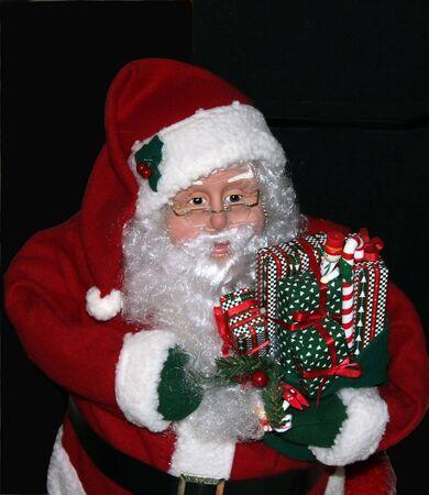 私たちのクリスマス コレクションのサンタ クロース像