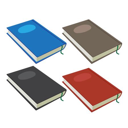 notebook vector collection design, book vector collection design 矢量图像
