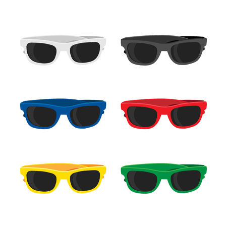 glasses vector collection design