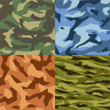 army background collection design, soldier vector collection design