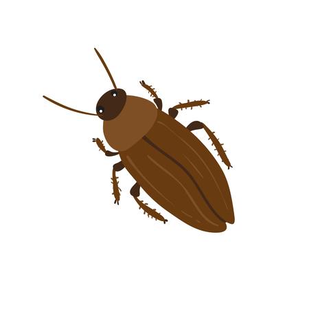 cockroach character vector design, cockroach vector set Vector Illustration