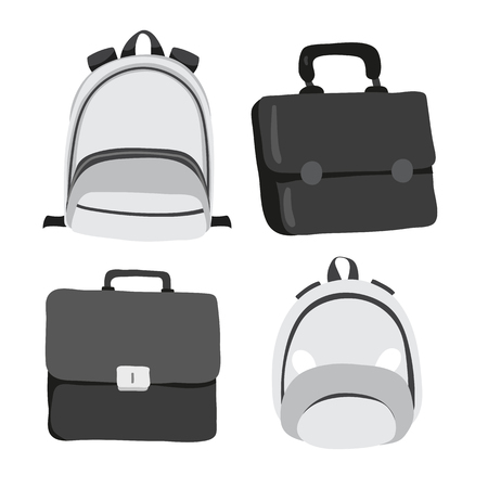 bag vector collection design, bag vector set design Illustration