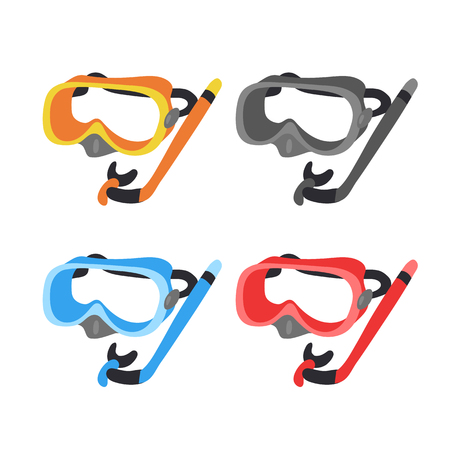 snorkel vector collection design