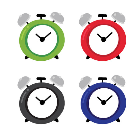 alarm clock vector design