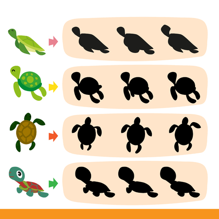 turtle game vector design, turtle game collection  design