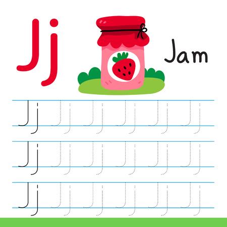 jam drawing line vector design, jam line drawing vector design Vector Illustration