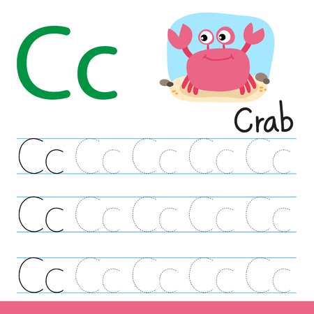 crab drawing line vector design, crab line drawing vector design