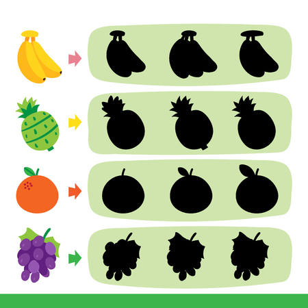 fruit game vector design, fruit game collection design