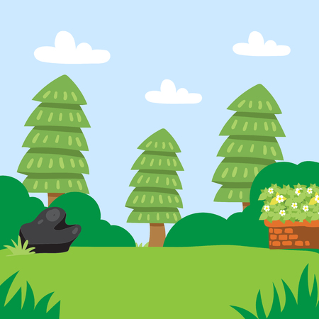background nature vector design, nature vector collection design