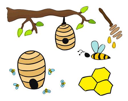 Beehive drawing