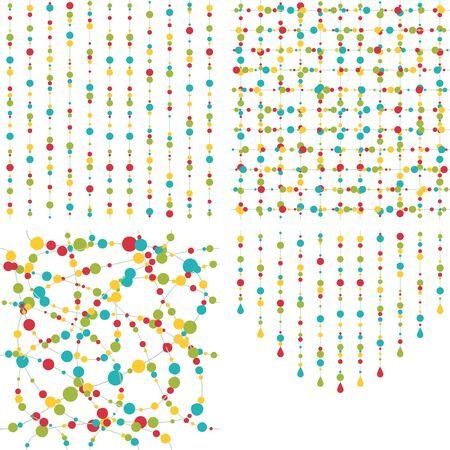 Seamless pattern beads
