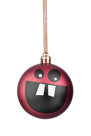 smileys: Happy Smileys Christmas toys on the Christmas tree