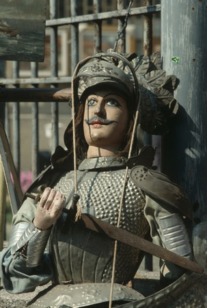 sicily: Sicily : typical puppet