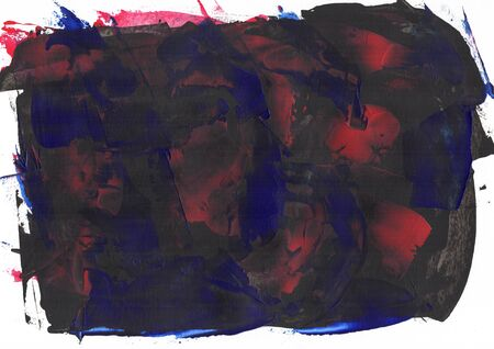 Abstract painting color texture, acrylic color background, knife texture, black, blue, purple, red. Self made