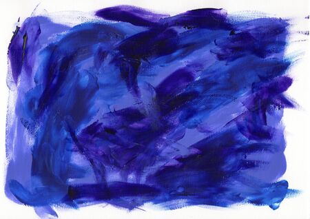 Abstract painting color texture, acrylic color background, knife texture, blue, purple. Self made