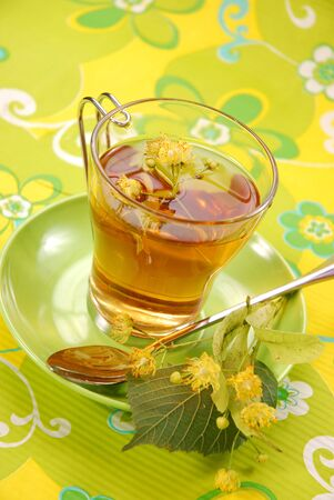 linden tea: healthy linden tea