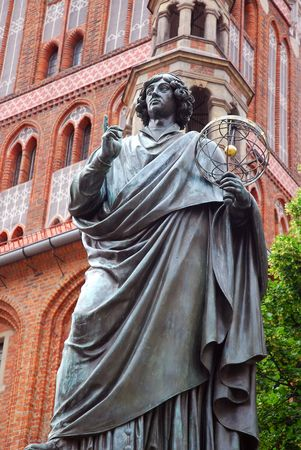 Denkmal des großen Astronomen Nikolaus Kopernikus in Thorn (Polen)