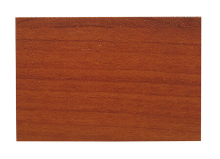 faux: Campione di legno Faux isolato su bianco