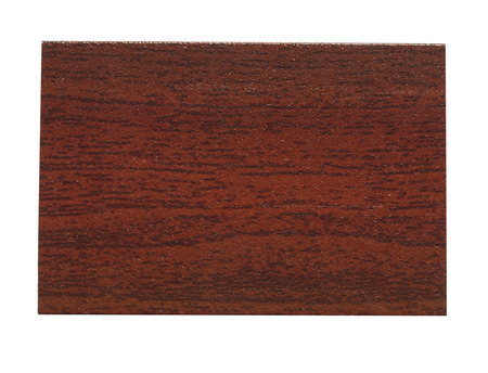 faux: Campione finto legno isolato su sfondo bianco